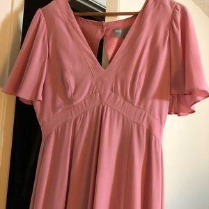 ASOS pretty maxi dress with ruffle sleeve